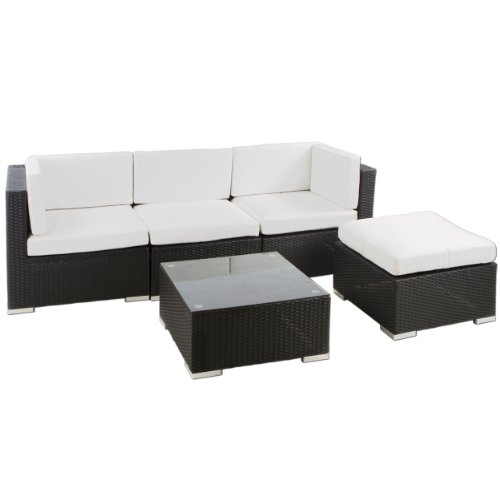 polyrattan sitzgruppe lounge punta cana 15 teilig. Black Bedroom Furniture Sets. Home Design Ideas
