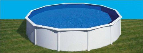 Gre kit240eco–Pool rund weiß DIM: Ø 240H 120