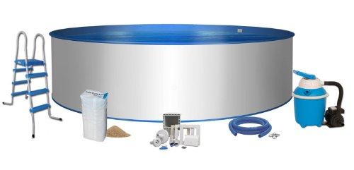 Pool komfort rundform 3 50 x 1 20m 0 8mm folie 0 6mm for Rundpool folie