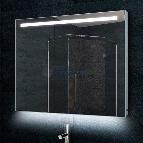 ren bugil design badezimmerspiegel alu rahmen inkl led beleuchtung 60x80cm m bel24. Black Bedroom Furniture Sets. Home Design Ideas