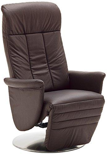 robas lund 64403bm9 fernsehsessel alexa bezug 100 leder braun m bel24. Black Bedroom Furniture Sets. Home Design Ideas