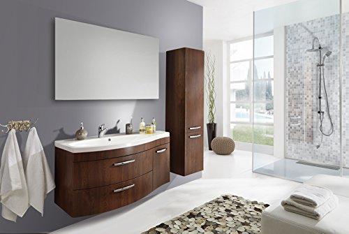 sam badm bel set vena 3tlg 110 cm wenge farbig matt mit mineralguss waschbecken schubladen. Black Bedroom Furniture Sets. Home Design Ideas