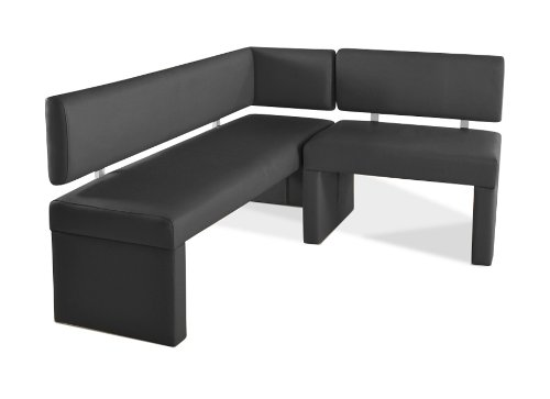 sam esszimmer eckbank lasabatina in grau sitzbank mit. Black Bedroom Furniture Sets. Home Design Ideas
