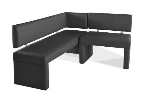 SAM® Esszimmer Eckbank Lasabatina in grau, Sitzbank mit SAMOLUX®-Bezug, 150 x 217,5 cm, andere Varianten wahlweise (133,5 / 153,5 / 178,5 / 193,5 / 233,5 / 253,5)