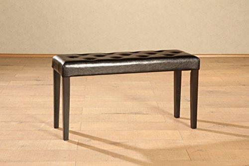 sam esszimmer sitzbank anke in dunkelbraun mit kolonial farbigen beinen bank in 90 cm breite. Black Bedroom Furniture Sets. Home Design Ideas