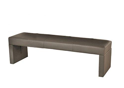 SAM® Esszimmer Sitzbank Nuto in muddy, Bank in 180 cm Breite, SAMOLUX®-Bezug für angenehmen Sitzkomfort, frei im Raum aufstellbare Essbank ohne Rückenlehne