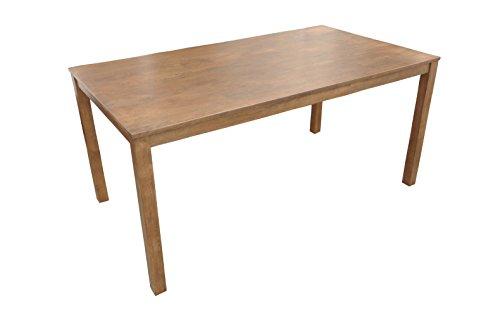 SAM® Stilvoller Esszimmertisch Tom II aus Akazie, nussbaumfarben, naturbelassene Optik mit Maserungen, 120 x 80 cm