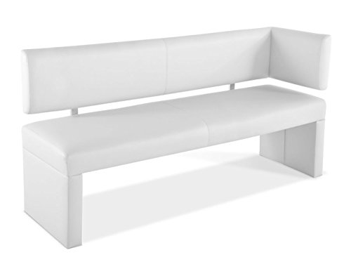 sam esszimmer ottomane laselena 150 cm weiss sitzbank. Black Bedroom Furniture Sets. Home Design Ideas
