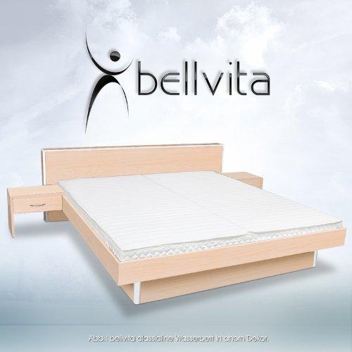 original bellvita wasserbett inkl lieferung und aufbau durch fachpersonal inkl bettrahmen. Black Bedroom Furniture Sets. Home Design Ideas