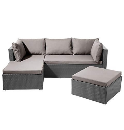 ssitg poly rattan garnitur sitzgruppe lounge m bel sofa gartenm bel garten gartenset m bel24. Black Bedroom Furniture Sets. Home Design Ideas