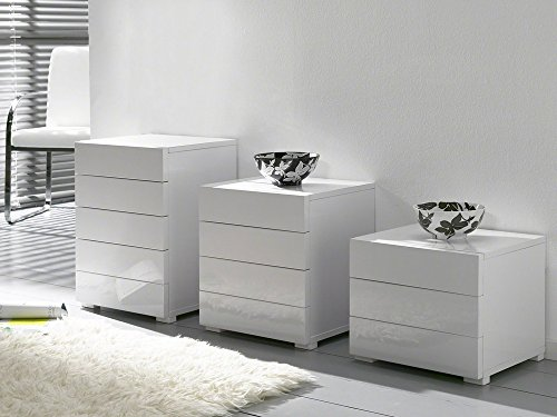 kommode weiss hochglanz m bel24. Black Bedroom Furniture Sets. Home Design Ideas