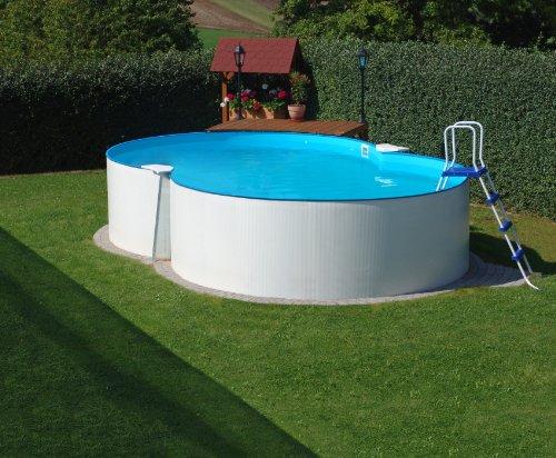 Schwimmbecken Achtform Pool Bora Bora 4,60 x 7,25 x 1,20m