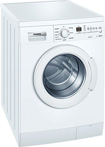 Siemens WM14E3A1 Waschmaschine FL/A+++/165 kWh/Jahr/1400 UpM/7 kg/10686 L/Jahr/mit varioPerfect flexibel entweder 65% Zeit oder 50% Energie sparen/weiß