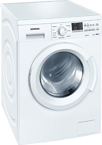 Siemens WM14Q342 Waschmaschine Frontlader/A+++/139 kWh/Jahr/1400 UpM/7 kg/9240 L/Jahr/Aquastop/weiß