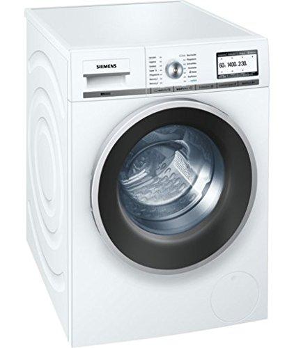 Siemens WM14Y74A iQ800 Waschmaschine Frontlader/A+++ B/1400 UpM/8 kg/Weiß/iQdrive-Motor/Senorgesteuerte-Automatikprogramme