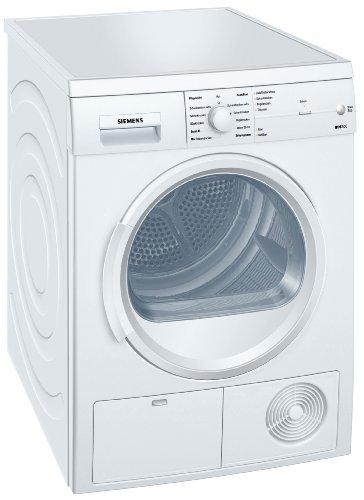 Siemens iQ300 WT46E103 iSensoric Kondenstrockner/B / 7 kg/Weiß / softDry-Trommelsystem/TouchControl Tasten/Knitterschutz / Super40-Programm