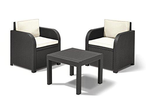 dynamic24 sitzgruppe florida rattan optik graphit 3 teilig m bel24. Black Bedroom Furniture Sets. Home Design Ideas