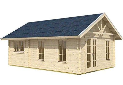Skan Holz Blockbohlenhaus Bern 4 45plus, 660 x 420 cm