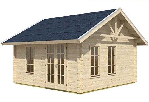 Skan Holz Blockbohlenhaus Toronto 1 70plus, 420 x 420 cm