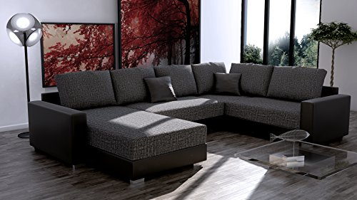 ecksofa titanic sofaecke eckgarnitur sofa garnitur big sofa couch m bel24. Black Bedroom Furniture Sets. Home Design Ideas