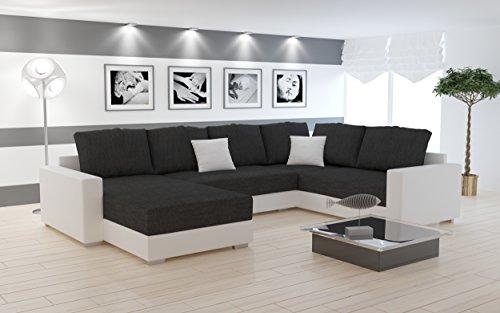 Sofa couchgarnitur couch sofagarnitur sty 5 u for Couchgarnitur wohnlandschaft