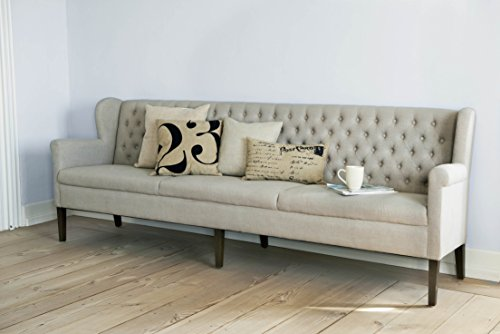 Sofabank Kingston 240 Smoked Massivholz B240 x H92 x T66 cm by Canett