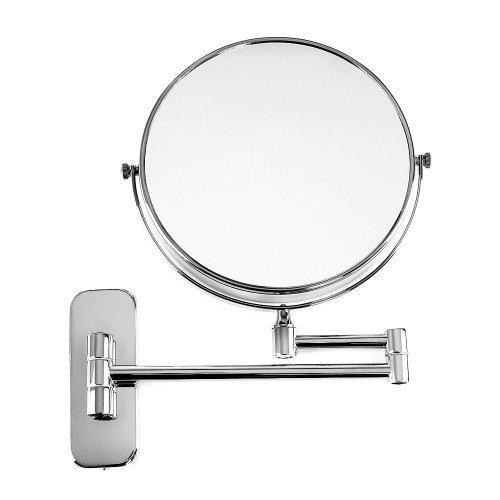 SONGMICS 10 Fach Kosmetikspiegel 8-inch Schminkspiegel zweiseitig Wandspiegel BBM001