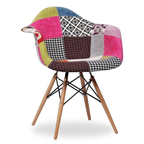 esszimmerstuhl wood arms style patchwork 62 5 x cm 63 x cm 81 cm santani mobili m bel24. Black Bedroom Furniture Sets. Home Design Ideas