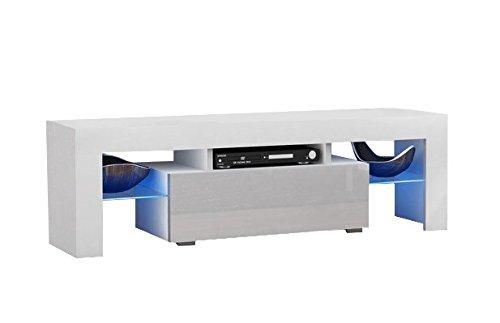 TV Lowboard Boss 130 (weiß)