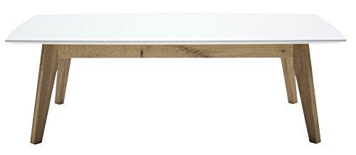 Tenzo 2189-554 Bess Designer Couchtisch, 38 x 120 x 60 cm, eiche furniert