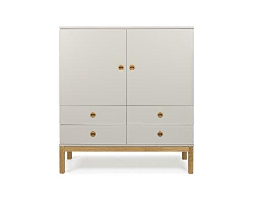 tenzo 3566 083 fresh designer schrank holz warm grey. Black Bedroom Furniture Sets. Home Design Ideas