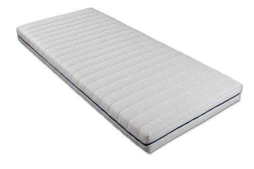 Traumnacht 3890460134 Orthopädische Kaltschaummatratze Härtegrad 3, 120 x 200 cm, weiß