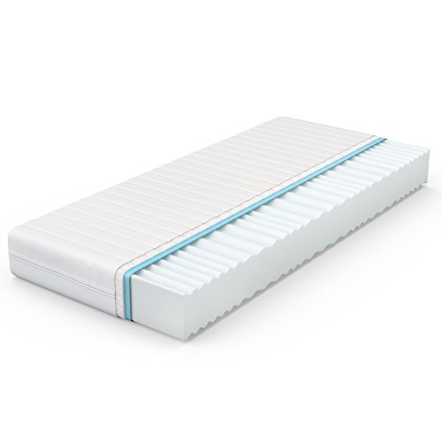 VitaliSpa® Calma Comfort Plus 7 Zonen Premium Kaltschaum Matratze (160 x 200 cm, H2 - 7 Zonen)