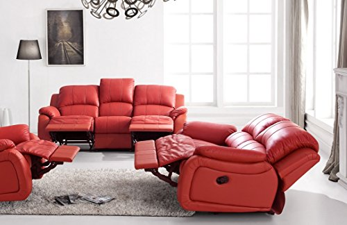 voll leder couch sofa garnitur relaxsessel fernsehsessel 5129 3 2 8401 m bel24. Black Bedroom Furniture Sets. Home Design Ideas