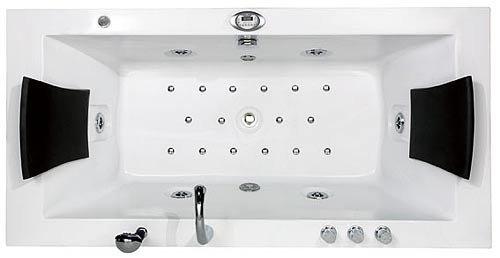 M bel24 badewannen whirlpools seite 3 von 3 g nstige for Jacuzzi para dos personas medidas