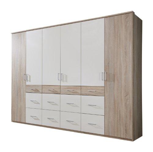 wimex kleiderschrank dreht renschrank click ii 6 t ren b h t 270 x 210 x 58 cm eiche. Black Bedroom Furniture Sets. Home Design Ideas