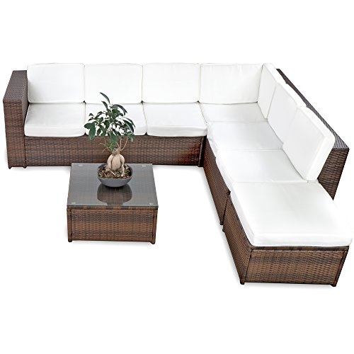 xxl luxus hohe dinning poly rattan lounge haiti mit. Black Bedroom Furniture Sets. Home Design Ideas