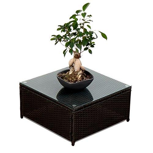 xinro 1er polyrattan lounge tisch gartenm bel hocker rattan durch andere polyrattan lounge. Black Bedroom Furniture Sets. Home Design Ideas