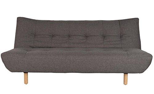 designbotschaft: Oslo - Schlafsofa Grau - Sofa