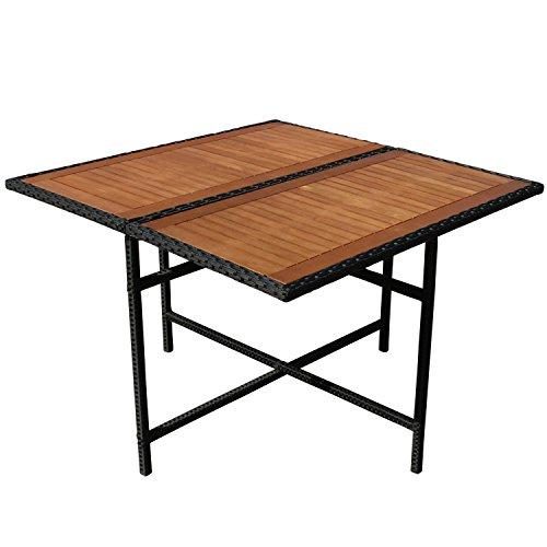 indoba ind 70076 ti serie faro gartentisch aus holz fsc. Black Bedroom Furniture Sets. Home Design Ideas