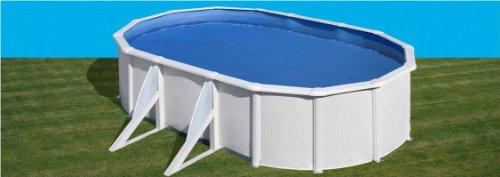 Gre KIT500ECO–Pool oval 4seitenverstärkungen, Liner Blau 30/100Maße: 500x 300H 120