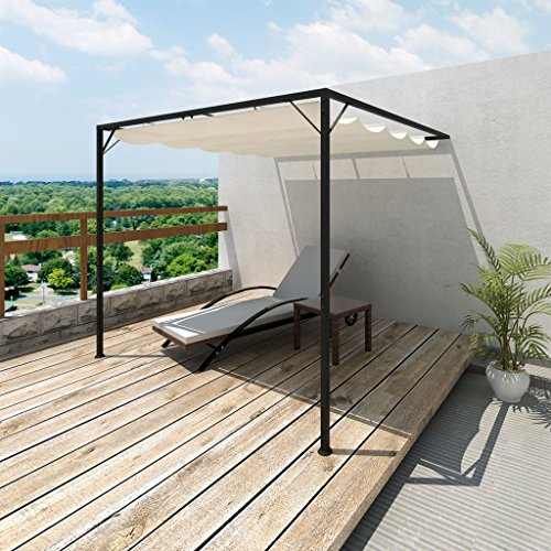 vidaXL Terrassenüberdachung Wandmontage Terrassendach Überdachung Sonnenschutz