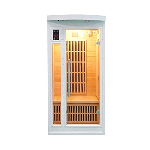 white sun infrarotsauna waermekabine 1 person