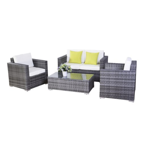 15tlg poly rattan sofa gartenm bel lounge set gruppe sitzgruppen gartengarnitur seseel m bel24. Black Bedroom Furniture Sets. Home Design Ideas