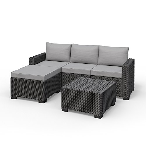 allibert california eck lounge set polyrattan gartenm bel rattanoptik sitzgruppe m bel24. Black Bedroom Furniture Sets. Home Design Ideas