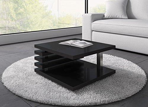 couchtisch oslo 60 x 60 cm schwarz hochglanz m bel24. Black Bedroom Furniture Sets. Home Design Ideas