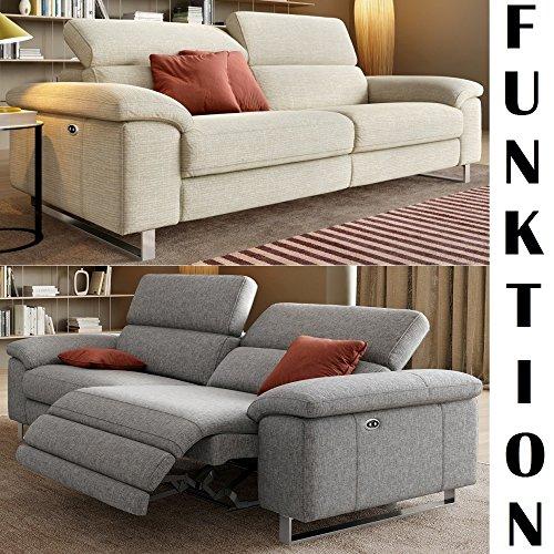 Designer sofa funktionscouch funktionsofa stoff for Couchgarnitur italienisches design