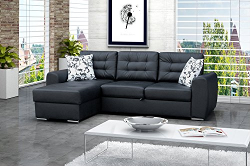 ecksofa baciatto eckcouch lounge sofa couch mit. Black Bedroom Furniture Sets. Home Design Ideas