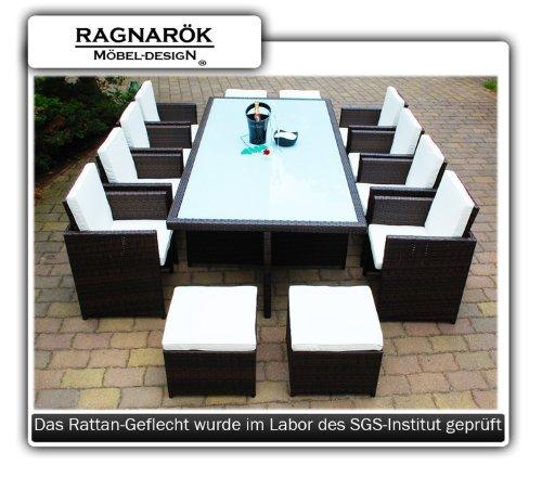 polyrattan essgruppe deutsche marke eignene produktion 8 jahre garantie tisch 8 stuhl. Black Bedroom Furniture Sets. Home Design Ideas