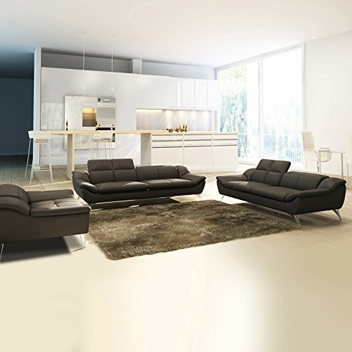 polstersofa monza farbwahl sofagarnitur sessel 3 sitzer 2 sitzer couchgarnitur echtleder mit. Black Bedroom Furniture Sets. Home Design Ideas